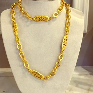 Authentic Vintage Chanel Oval link Chain